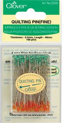 Check Out This Clover Quilting Pins, Fine