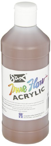 Sax True Flow Medium-Bodied Acrylic Paint - Pint - Burnt Sienna