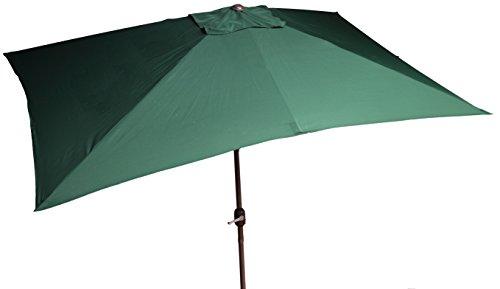beo Sonnenschirme wasserabweisend ohne Standfuß Sonnenschutz, eckig, 2 x 3 m, grün