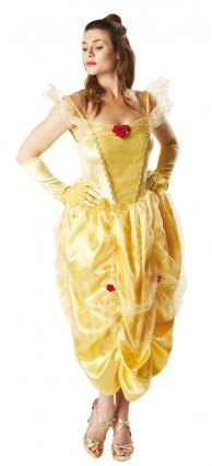 RUBIES ES Women's Princess Belle Fairytale Beauty Outfit