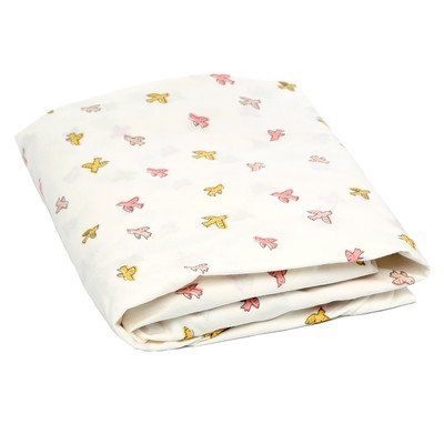 DwellStudio Fitted Crib Sheet, Swallow