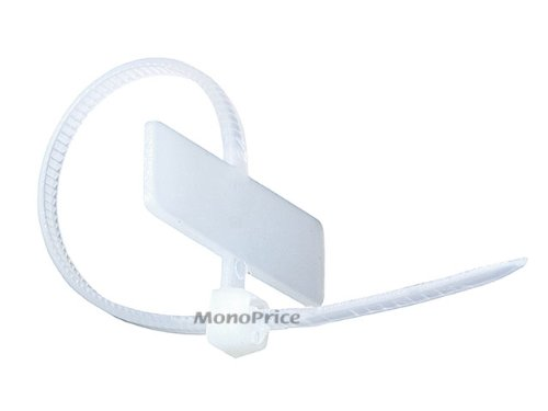 """Identification Marker Flag Cable Tie 18lbs Tensile Strength 3//4/"""" Bundle 1.00/"""""""