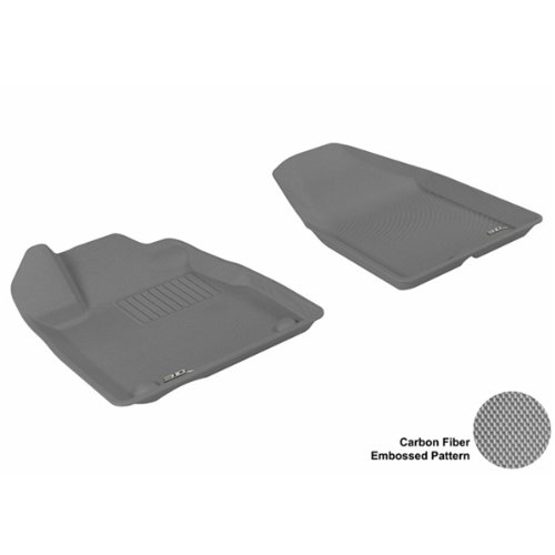 3D MAXpider Front Row Custom Fit All-Weather Floor Mat For