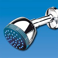 Chrome Sunbeam Chlorine Shower Water Filter Head