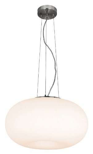 Access Lighting 50944-BS/OPL Nickel Aircraft Large Pendant Light