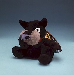 DIGGER THE SNOTTISH TERRIER * MEANIES * Series 2 Bean Bag Plush Toy From The Idea Factory
