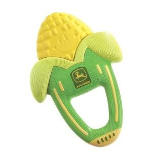 Toy / Game The First Years John Deere Massaging Corn Teether With Massage Mechanism Baby Begins To Learn from 4KIDS