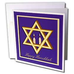 Beverly Turner Hanukkah Design - Star of David