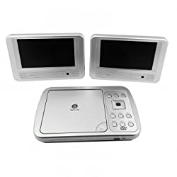 See Digital Labs Portable Dual 7Inch Dvd Cd Player Details