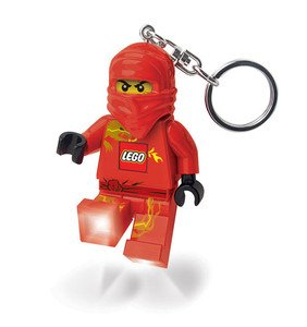 Lego Ninjago Red Ninja Led Light Keychain