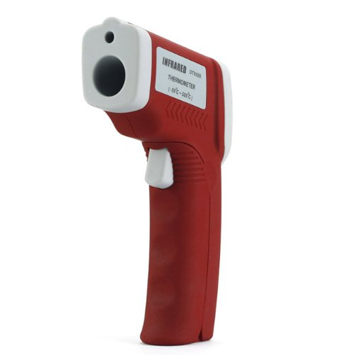SainSonic SS5500 Non-Contact Instant-Read Laser IR Themometer Gun Wide Temperature Range(-58F to 932F) Red-Grey