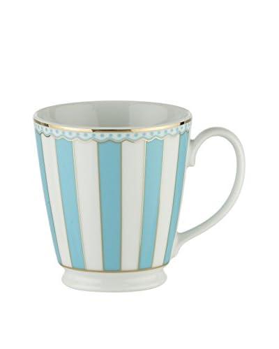 Noritake Carnivale 12-Oz. Mug with Gift Box, Light White/Blue