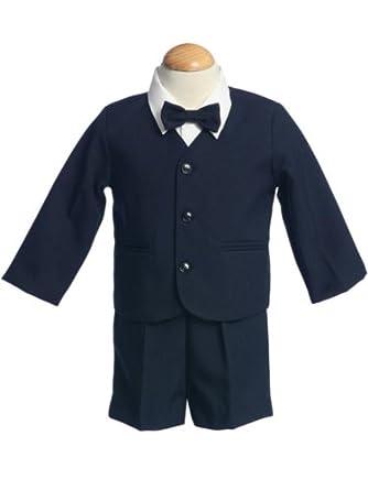 G-8161n- M-eton Navy Suit- Jacket, Shorts, Shirt, Tie- Made in USA