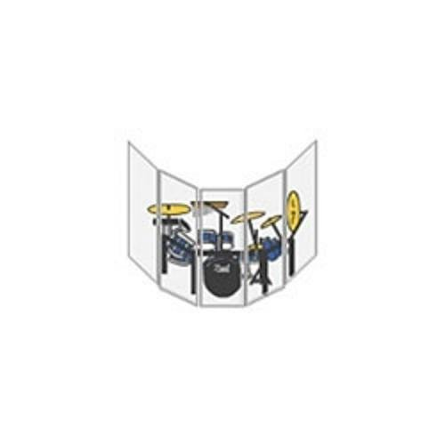 Plastics America Sb560 5 Panel Sound Shield Set (2' X 5')