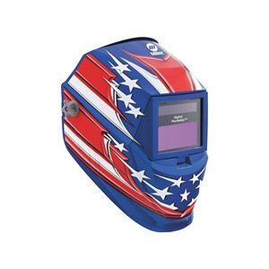Welding Helmet, Shade 8 to 13, Blue welding helmet welder cap for welding equipment chrome for free post