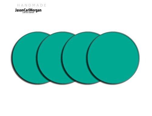 Telecommande JCM Jante en alliage Bouchon Badges pour SAAB FORD BMW (CLR Aqua 60 mm