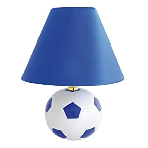 Lloytron L3118bl 40 Watt Football Ceramic Table Lamp