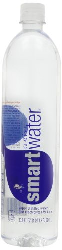 Glaceau Smart Water, 1 Liter (Pack of 6)