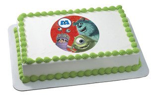 Monsters Inc Mike Sully And Boo Edible Image (Monster Inc Streamers compare prices)