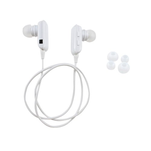 Agptek® Wireless A2Dp Stereo Bluetooth Headset Earphone Headphone For Cell Phone/Iphone 4 4S 5/Android Phone/Samsung Galaxy (White)