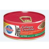 Hill's Science Diet Culinary Creations Kitten Roasted Chicken Dinner in a Savory Gravy Cat Food - 5.5-Ounce Can (Pack of 24)