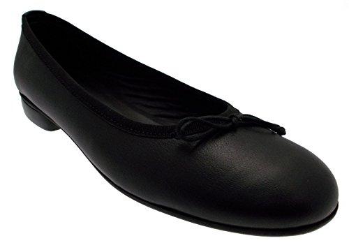 paperina ballerina classica pelle nero nodo 40 nero