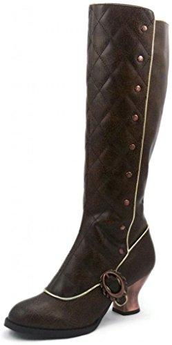 Women's Hades Victoriana Boot Brown