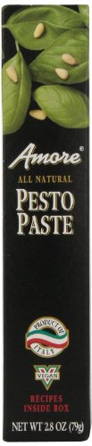 Amore Pesto Paste, 2.8 Ounce Tube