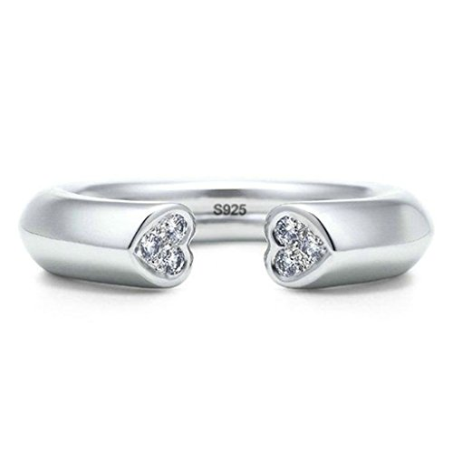 925-sterling-silver-ring-womens-wedding-bands-4mm-silver-double-hearts-design-adjustable-size-epinki
