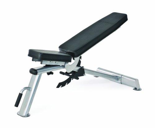 Horizon Fitness, Panca multifunzione Adonis Trainings, Argento (silber/ schwarz)