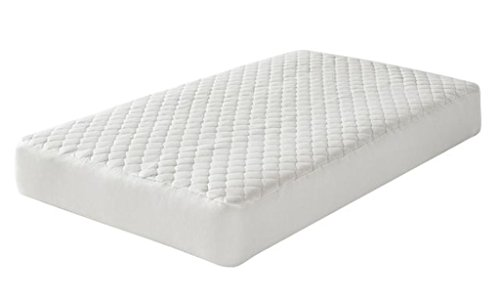 Greenbuds Organic Cotton Quilted Crib Mattress Pad