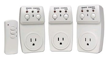 1 pack of three Faraway Regulate BH9936-Three Energy Switches