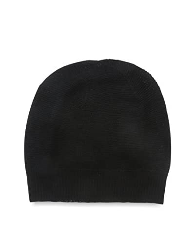 Cullen Men's Merino Knit Beanie, Black