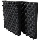 "Acoustic Foam 1-1/2"" x 12"" x 12"" 2 Pieces UL 94"