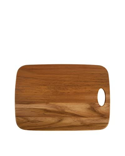 Core Bamboo Teak Wood Long Classic Cutting Board With Handle