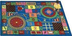"Joy Carpets Kid Essentials Active Play & Juvenile Teacher's Pet Rug, Multicolored, 10'9"" x 13'2"""