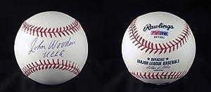 John Wooden SIGNED Wilson Baseball UCLA Bruins (DEC) Coach AUTOGRAPHED - PSA DNA... by Sports+Memorabilia