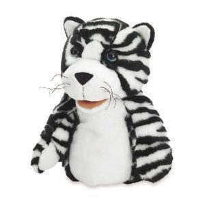 Manhattan Toy Jungle Jangles Tilda Tiger Hand Puppet - 1