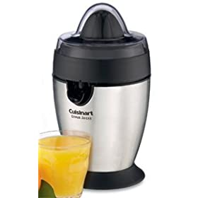 Cuisinart Citrus Juicer - Electric - Brushed