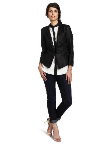 Anne Klein Women's Open Front Jacket