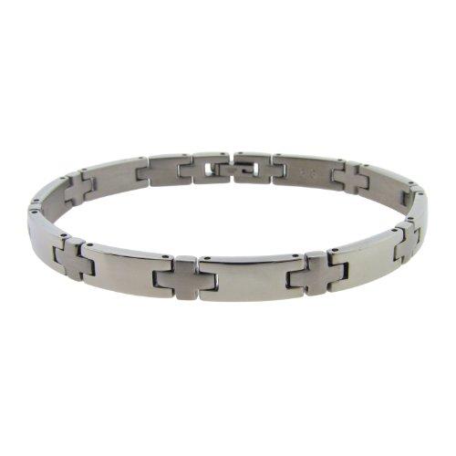 Men's Stainless Steel Link Bracelet, 8.75