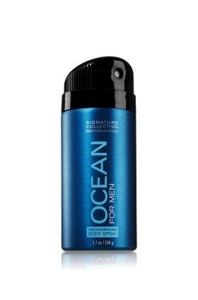バス&ボディワークス オーシャン フォーメン デオドラント スプレー OCEAN FOR MEN DEODORIZING BODY SPRAY