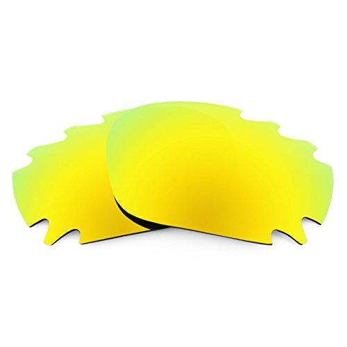 Lenti di ricambio Revant Polarizzate Oro 24K per montatura Oakley Racing Jacket Vented MirrorShield® Asian Fit