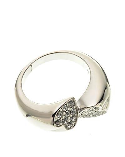 Guess Anello Rings Of Love Taglia 14 Argentato