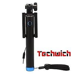 Techwich Selfie Stick With Aux Control - Locust Series