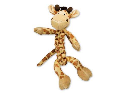 KONG Safari BraidZ Giraffe, Dog Toy, Small