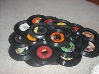 (25) 7″ Vinyl Records for Crafts & Decoration