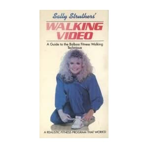 Fitness Walking With Sally Struthers [VHS]