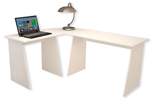 """Eck-Schreibtisch """"Masola"""" Weiß"""