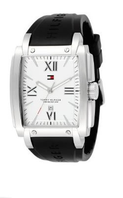 Tommy Hilfiger Men's 1790697 Sport Black Silicon Strap Watch